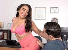 Gabriella Sky's alluring oral job skills