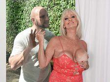 JMac discharges his sperm, Leah swallows