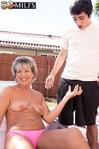 Constance, Fifty two, fucks a 23-year-old