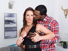 Ass-fucked by a greater than typical, darksome cock